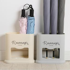 Домашняя креативная стойка для зонта, овальная стойка для зонта, держатель для хранения зонта, 4 отверстия, прихожая, Офисная стойка