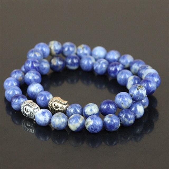 Bracelet Perle Sodalite