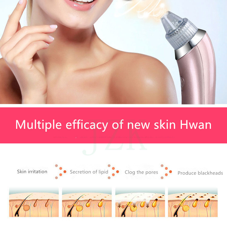 Remove Blackheads Electric Artifacts Acne Pores Clean Exfoliating Cleansing Facial Skin Care Beauty Instrument Spot Cleaner