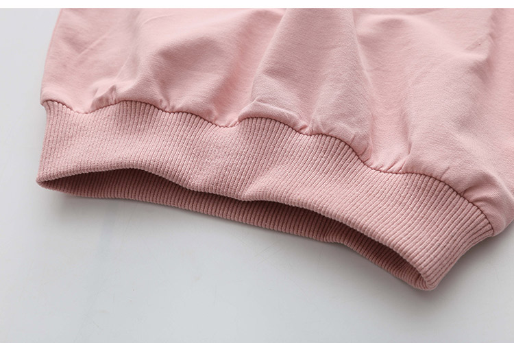 2018 Spring Autumn 2-10 11 12 Years Old Teenager Children Patchwork Fake 2 Pcs Baby Kids Basic Sweatshirt For Girls 11 12 Years (17)