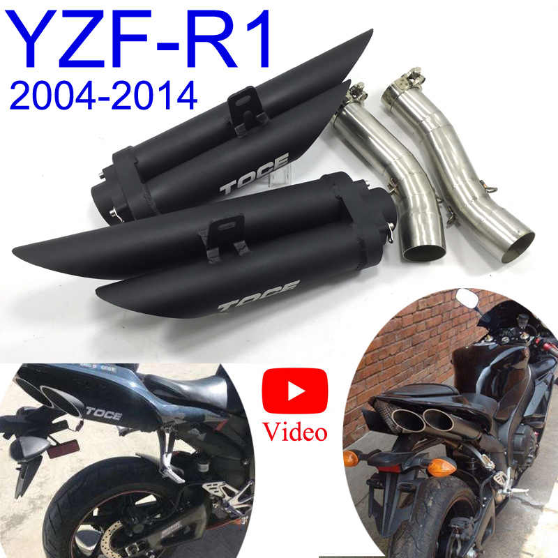 Detail Feedback Questions about R1 Slip On Full System YZF