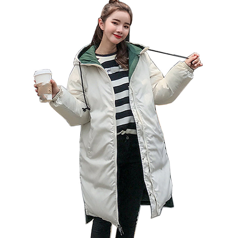 Double-sided Winter Jacket women Autumn Winter Coat Women Jacket Woman   Parkas   Outerwear Down jacket Winter Jacket Female Coat