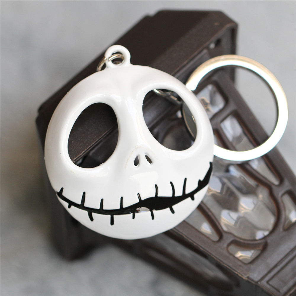 Free shipping Skeleton Jack Keychain Jack key chain Nightmare Before ...