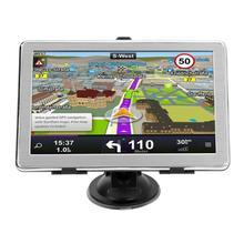 X8 HD gps 7 дюймов сенсорный экран портативный 8 Гб gps навигатор FM передача ультра тонкий автомобиль грузовик gps трекер навигационная система