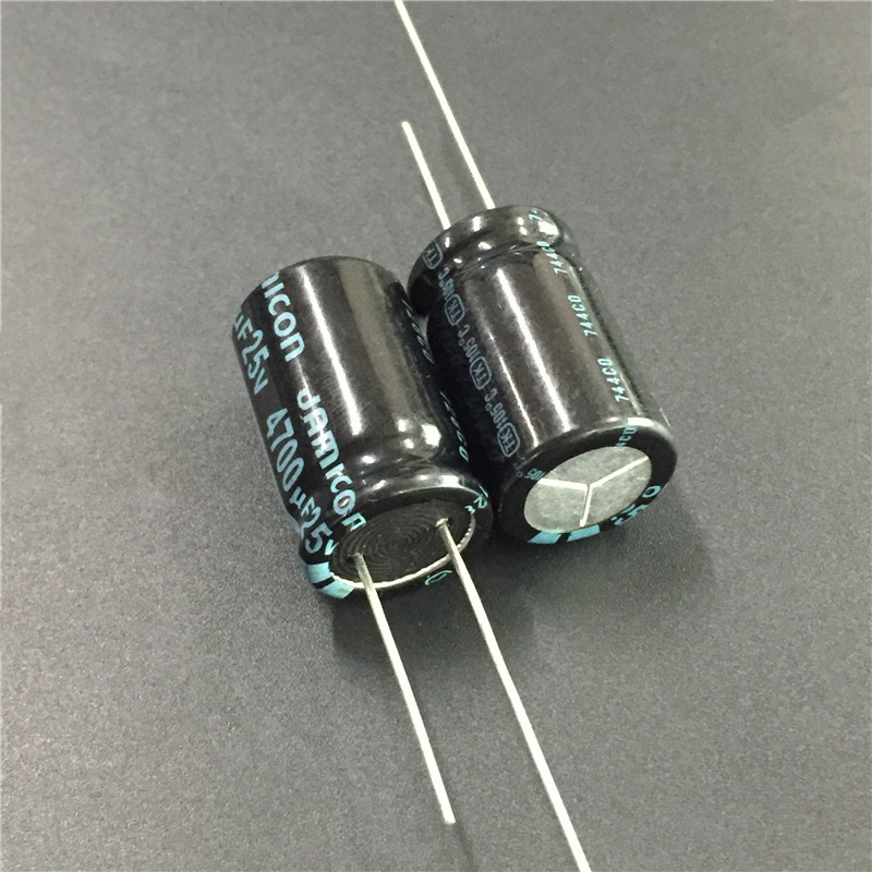 5pcs 4700uF 25V JAMICON TK Series 16x25mm High Quality Original 25V4700uF Aluminum Electrolytic Capacitor