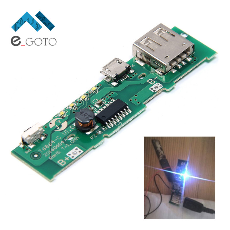 5V 1A Power Bank Charger Board Charging Circuit PCB Board