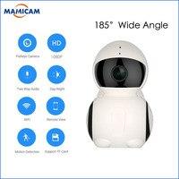 Mini WiFi Panoramic IP Camera HD 1080P 180 Degree Fish Eye 360 Degree Full View Wireless Robot IP Camera Two way Audio