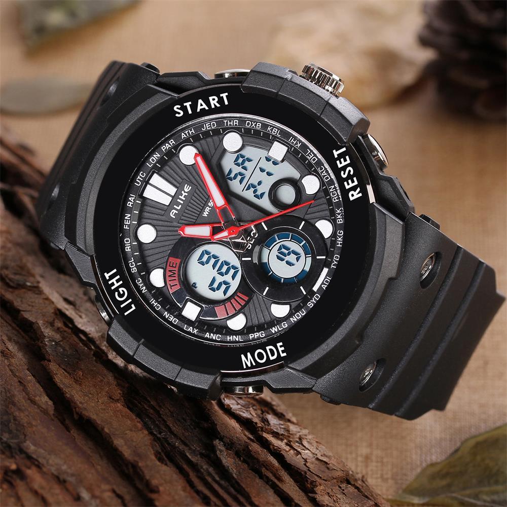 3665b19e159 2016 New ALIKE G Style Digital Watch S Shock Men Army Military 50M  Waterproof Date Calendar LED Sports Watches Relogio masculino