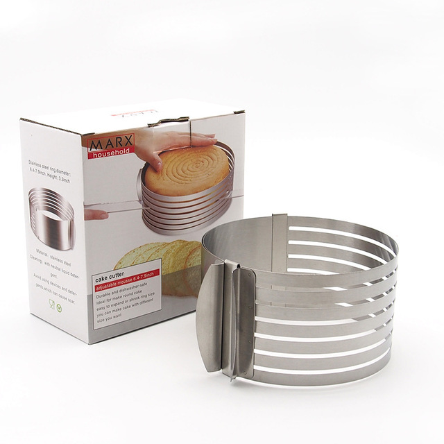 7.8 inch Round Slicing Cake Rings