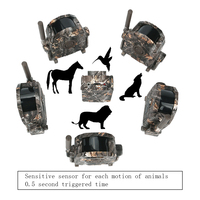 100M Range Wireless Wild Animal Motion Trigger Detector Deer Trap Hunting Game Alarm Forest Protect Device