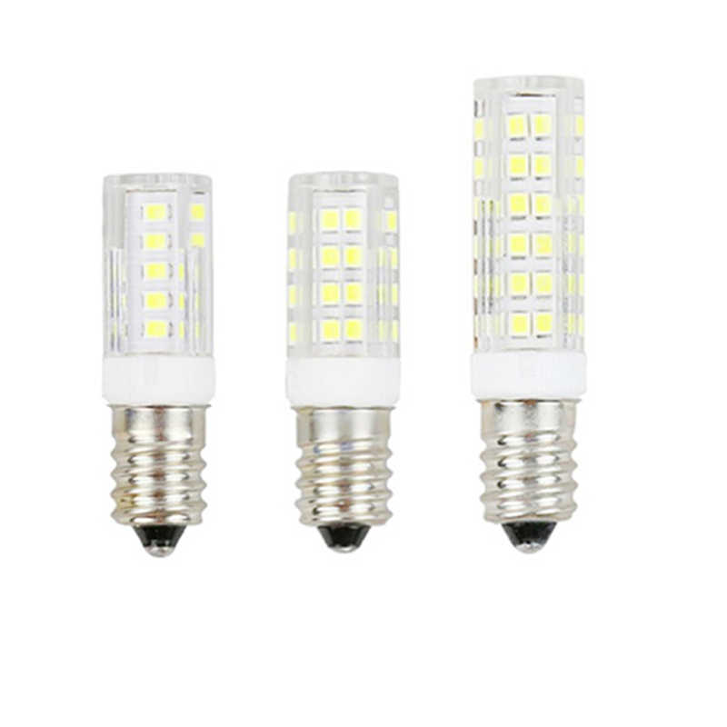 1-10 pièces en céramique LED ampoule E14 220V lampe SMD2835 51 75 86LED s LED lumière de maïs 7W 9W 12W LED lampes de projecteur pour l'éclairage à la maison