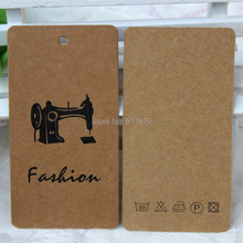 customized clothing 350 gsm kraft paper hang tag/garment printed labels/swing tags/cardboard tags/bag tags