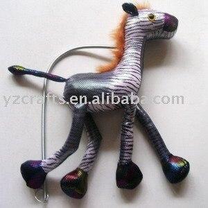 Large Zebra stuffed animals toys /stuff toy  free shipping
