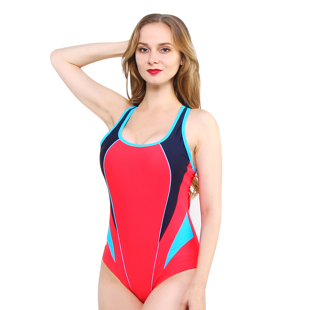 one-piece women swimwear sexy sporty stle sexy halter large size big cup plus bust striped bathing suit swimsuit body suit 2017 new sexy one piece swimsuit strappy biquini high waist one piece swimwear women bodysuit plus size bathing suits monokinis