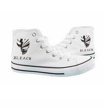 New Bleach anime Kurosaki Ichigo Canvas shoes Fashion Sneakers Anime Shoes