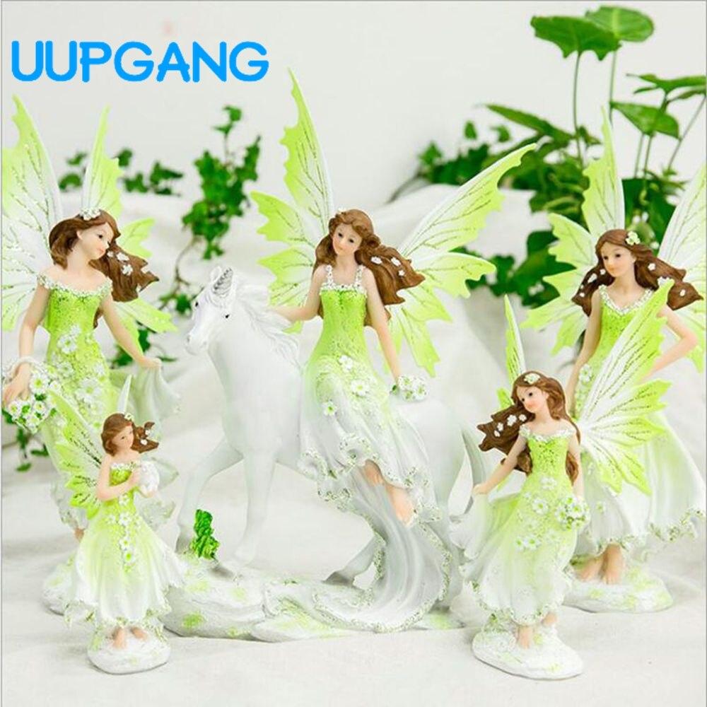 Creative Gift Angel Ornaments Home Decor Flower Pixie Fairy ...