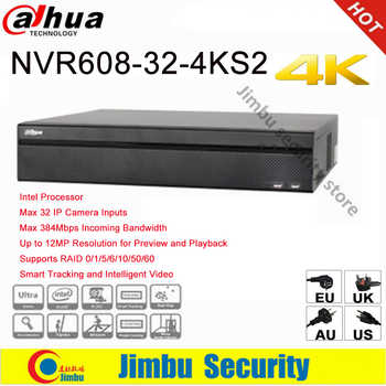 Dahua NVR 4K  32 Channel video recorder NVR608-32-4KS2Ultra 4K H.265 Video Recorde Intel Processor Up to 12MP Resolution - DISCOUNT ITEM  17% OFF All Category