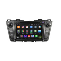 Quad Core Optional Android 4 4 4 Fit MAZDA 5 MAZDA5 Mazda Premacy 2010 2011 2012