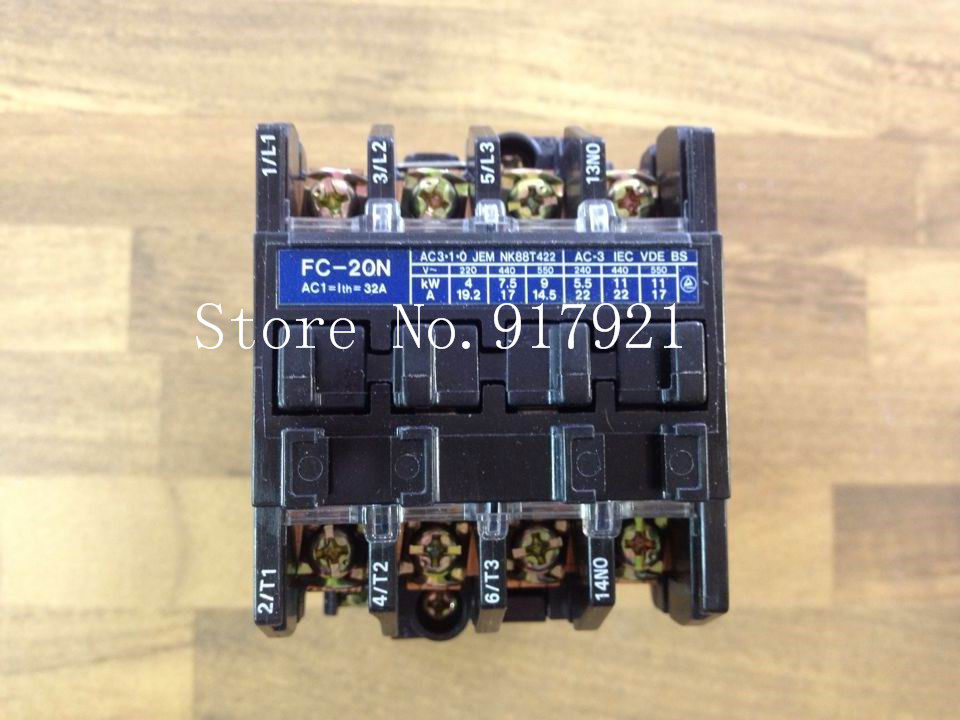 все цены на [ZOB] Japan's original FC-20N BMF62042N AC200V32A 4NO contactor standard original authentic  --2pcs/lot