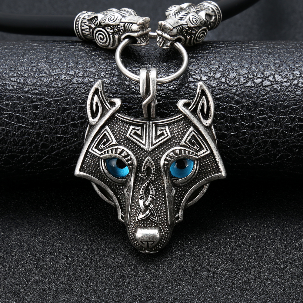 pewter norse wolf macht pendant museumreplicascom - 1000×1000