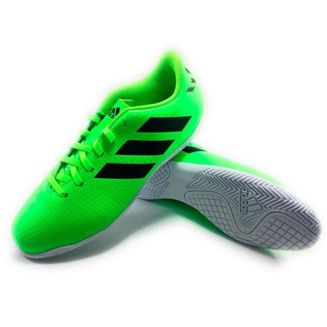 ac1301e3738d5 ADIDAS NEMEZIZ MESSI TANGO 18.4 IN J - kid Botas Futbol Indoor Verde -  botas de