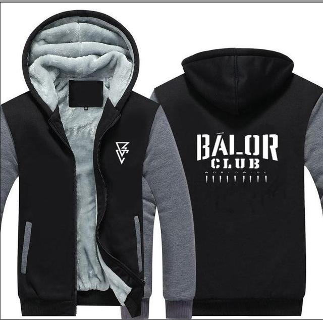 17adad7c5e2 New Fashion Wrestling Finn Balor Club Men Zipper Hooded Casual Sweatshirt  Mr Beast F5 Da Winter Thickened Sportswear Hip Hop