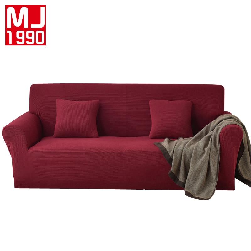 Modern Sofa Cover All inclusive Slip resistant Sofa Towel Elastic Fleece Fabric Sofa Towel Furniture Protector 1/2/3/4 seater