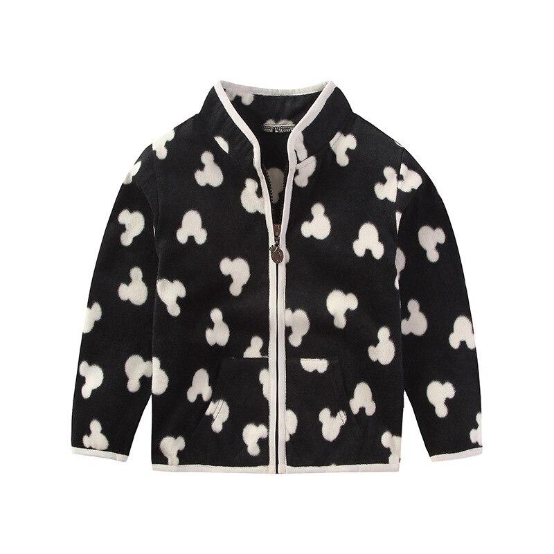 2016 New Spring Cute Baby boy Girl Coat Long-sleeved sweater Fleece Girl boy Jacket Zipper children Jacket kids Outerwear