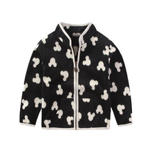 2016 New Spring Cute Baby boy Girl Coat Long sleeved sweater Fleece Girl boy Jacket Zipper