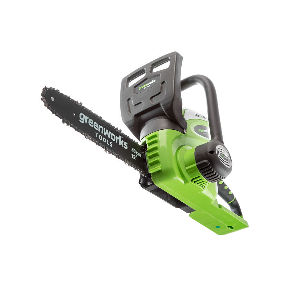 Saw chain rechargeable GreenWorks G40CS30K3 (Li-ion, 40В, battery 3 Ah Battery, tire 30 cm)