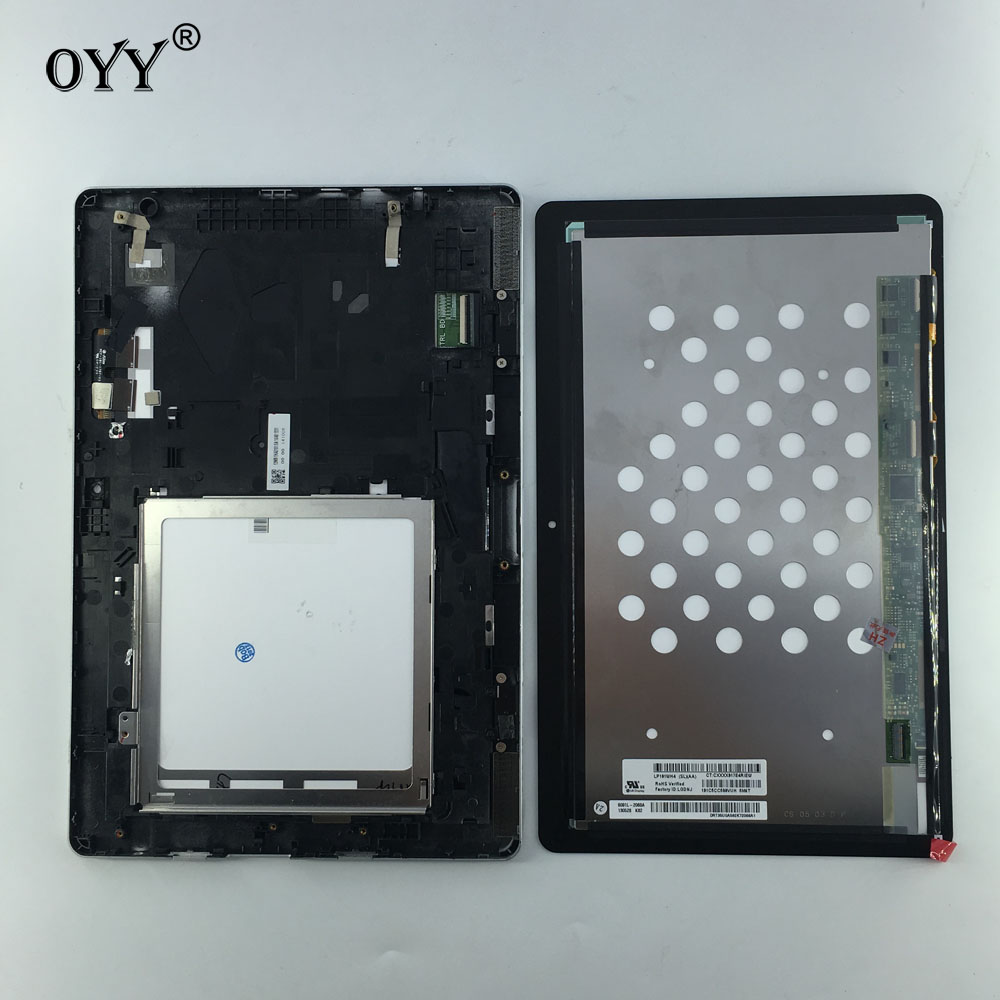 цены LCD Display Panel Screen Monitor Touch Screen Digitizer Glass Assembly with frame For Acer Aspire Switch 10 SW5-012