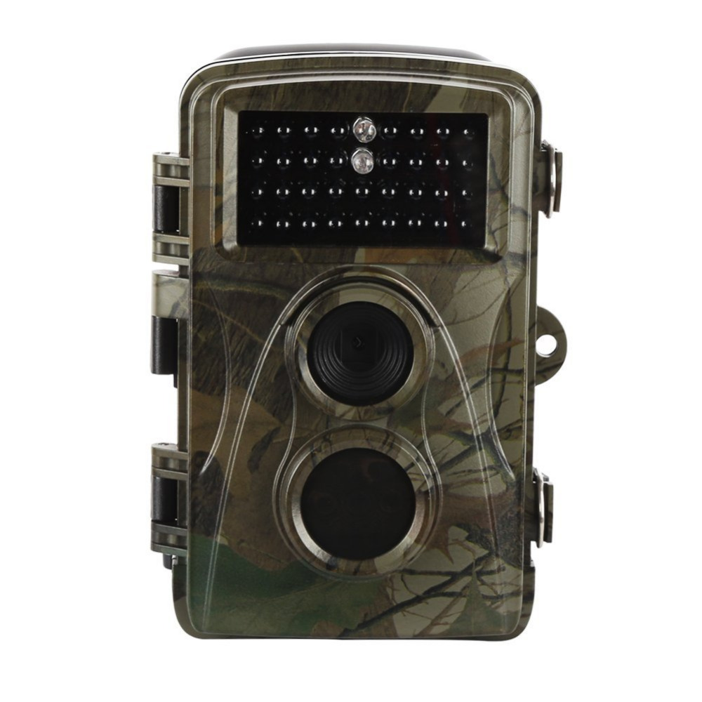 Waterproof Trail Hunting Cameras HD 12MP Night Vision Infrared 42 Leds Game Trap Wildlife Camera