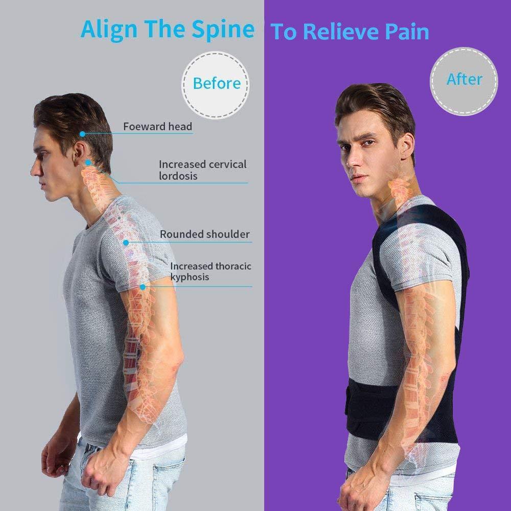 Back Posture Corrector Adult Back Support Shoulder Lumbar Brace Health Care Support Corset Back Belt 1