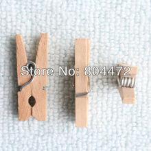 5000 шт./лот, березовые мини-штифты, деревянные штифты для одежды, мини штифты, мини штифты для рукоделия, натуральный цвет, 2,5 см,, прищепки