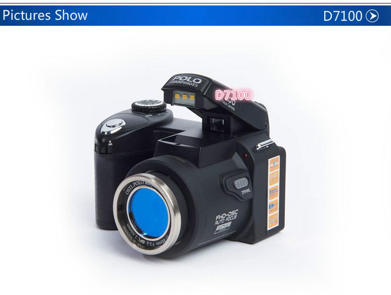 Cámara Protax D7100