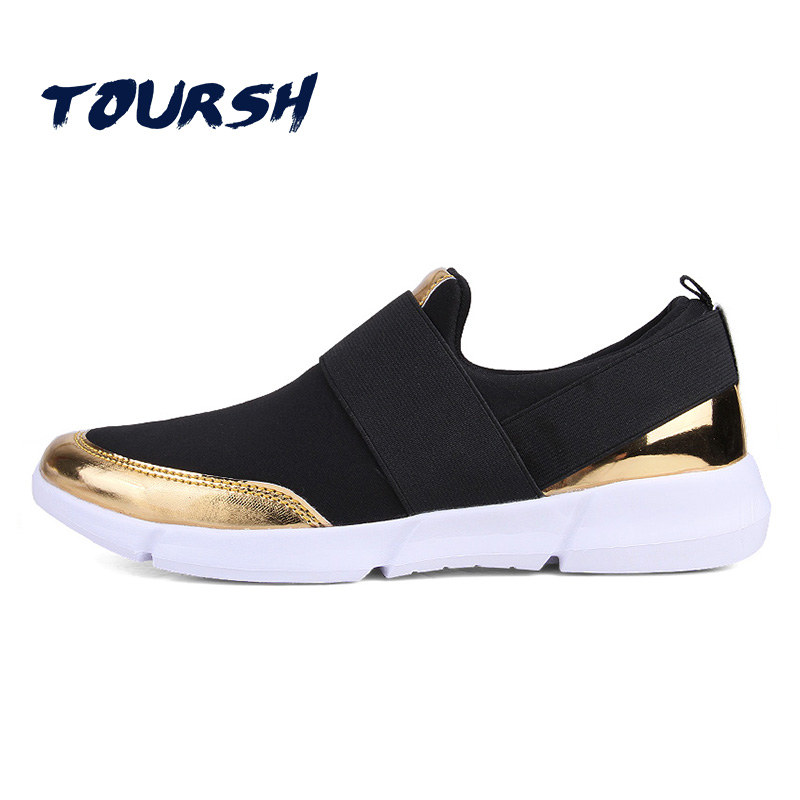TOURSH 2018 Brand Women Summer Casual Breathable Flat Shoes New Women Loafers Slip-On Shoes Zapatillas Plus Size Tenis Feminino 2017 new summer zapato women breathable mesh zapatillas shoes for women network soft casual shoes wild flats casual shoes