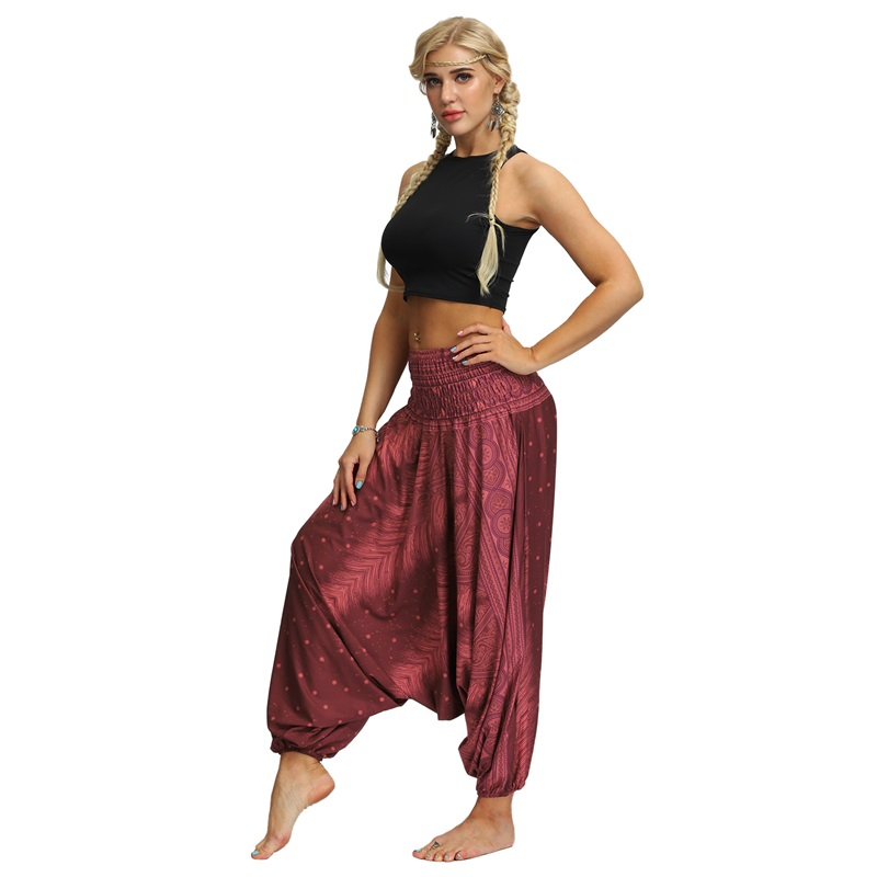 Trousers Yoga-Pants Low-Crotch Hip-Hop Cotton Casual And 3d-Printed Hot-Sale Men Women