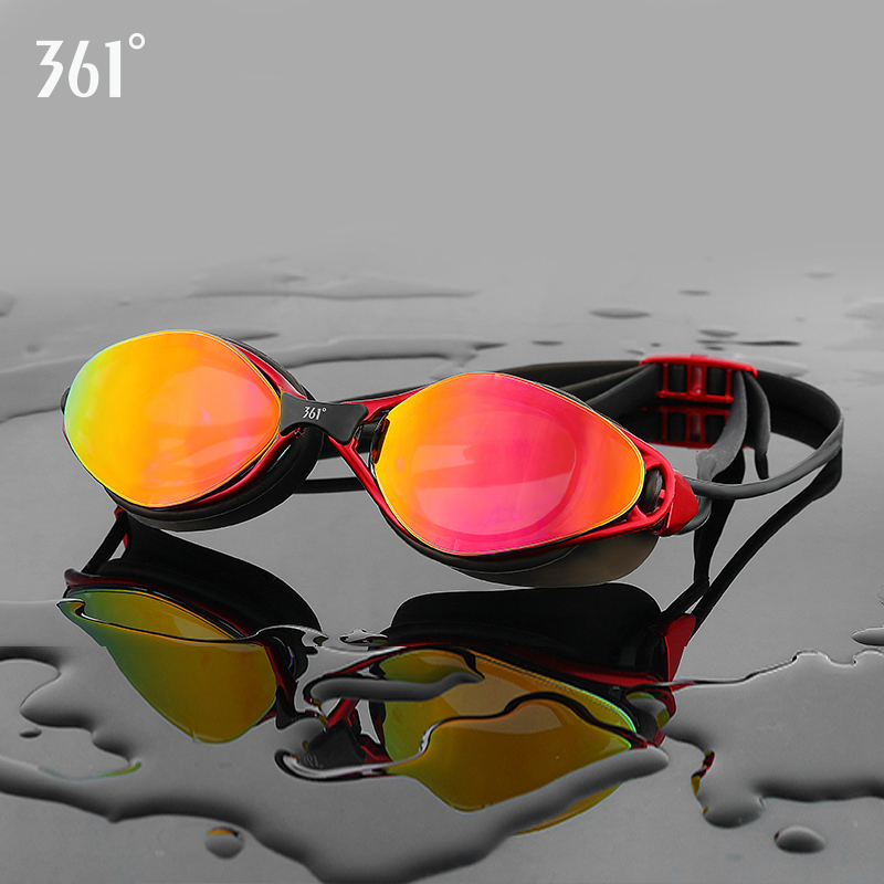 361 Men's Pool Swim Goggle Adult Swimming Goggles HD Anti Fog Swim Goggles Silicone Waterproof Glasses Women Swim Eyewear