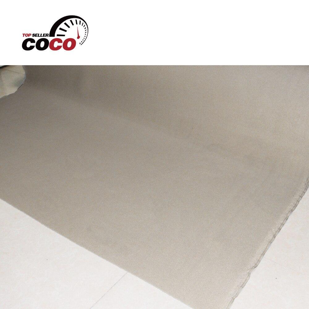 Espuma de revestimento do telhado estofamento isolamento auto pro bege headliner tecido teto com tamanho diferente estilo do carro
