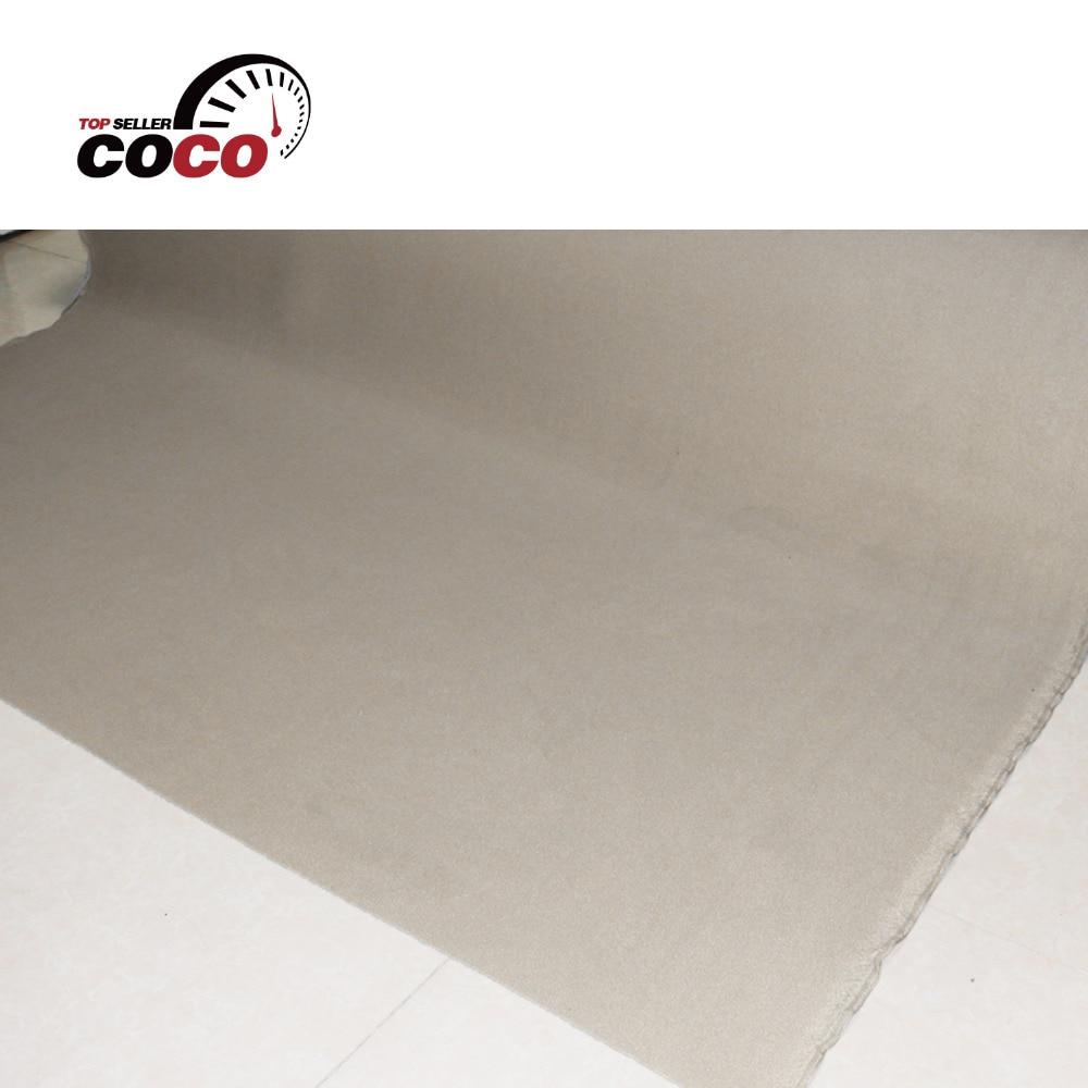 Schuim backing dak voering BEKLEDING Isolatie auto pro Beige headliner stof plafond met verschillende grootte auto styling