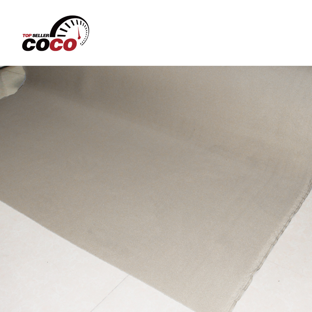 car styling foam backing roof lining UPHOLSTERY Insulation auto pro Beige headliner fabric ceiling with different size