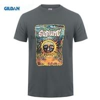 GILDAN Custom Printed Shirts Gildan Crew Neck New Style Short Sleeve Sublime Band Under The Sea