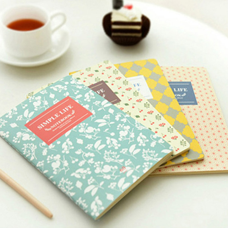 Exercise book School notebook paper A5 30 Sheets Diary stationery products notepad stationary products Supplies gift color page diary notebook a5 simple top quality thicken notebooks school supplies stationery fine travel plan notepad gift