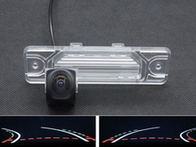 HD 1080P Trajectory Tracks Fisheye Lens Rear view Camera For Renault Koleos 2009 2010 2011 2012 2013 2014 Car Reverse