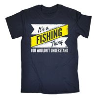 Its A Fishinger Understand T-SHIRT Fish Anglow Ing Fly Worms Birthday Fashion Gift Print T Shirt O-Neck Short Simple