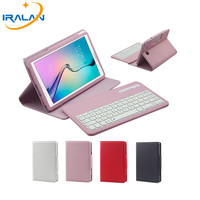 2017 New For Samsung GALAXY Tab E 9 6 T560 T561 Cover Removable Wireless Bluetooth Keyboard