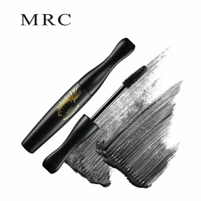MRC العلامة التجارية ماكياج ثلاثية الأبعاد الألياف جلدة الماسكارا حجم الرموش الشباك سميكة الحبر الأسود لمستحضرات التجميل مقاوم للماء عيون