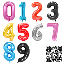1pc 30/40inch Aluminium Foil Number Ballons Accessories Kids Event Festive Supplies Birthday Party Decoration Wedding Balloons