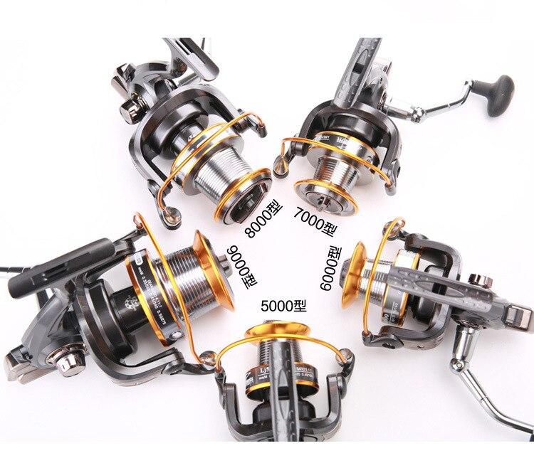 Battlesea 3000-9000 série résistance à l'eau Max glisser 19 KG moulinet de filage plus léger moulinet de pêche en eau douce plus fort