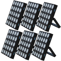 6pcs/lot factory wholesale price ce rohs approved 25x10w rgbw 3in1 dmx led matrix